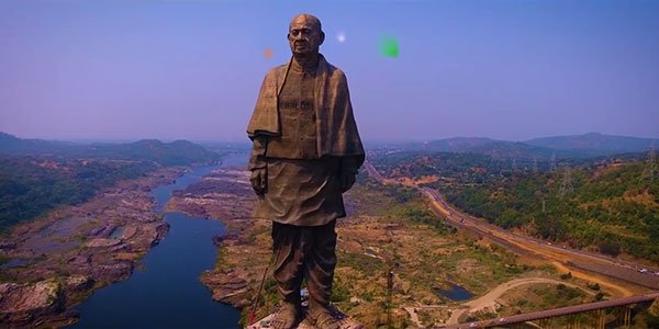 Statue of unity, Sardar Vallabhbhai Patel, a man born as a hero for the country