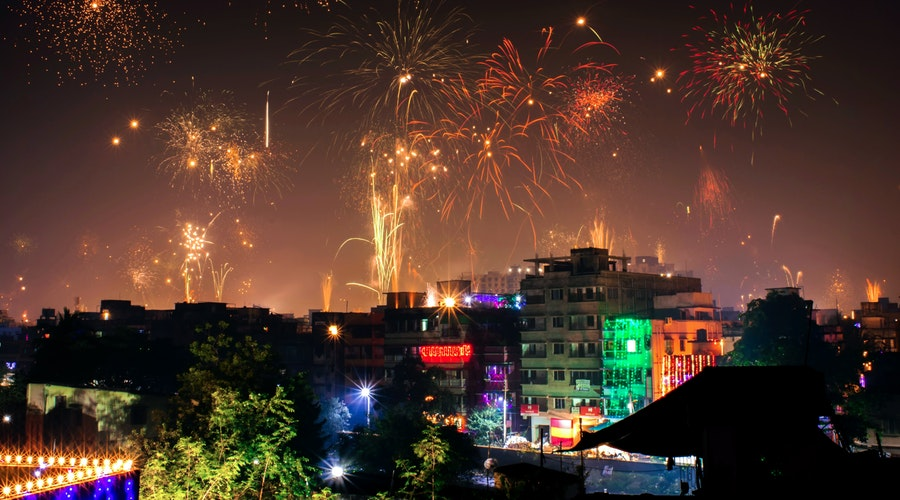 New year: an ideal time for the celebration and fun