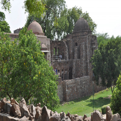Hauz khas village Sightseeing