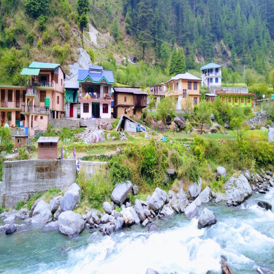 Barot Valley Place to visit