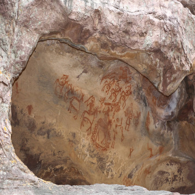 Bhimbetka Rock Shelters Place to visit