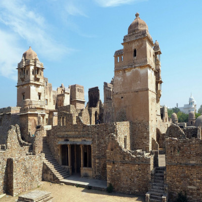Chittor Fort Place to visit