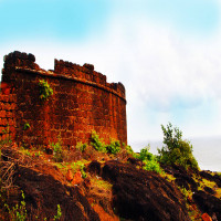 Chapora Fort Historical