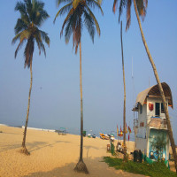 Colva beach goa Place to visit