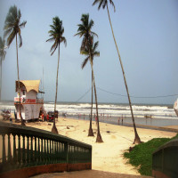 Colva beach goa Places to See