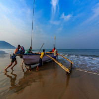 Colva beach goa Tours
