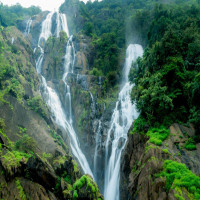 Dudhsagar Falls Mountains