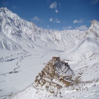 Spiti Valley Snowfall