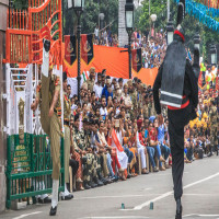 Wagah Border Attractions