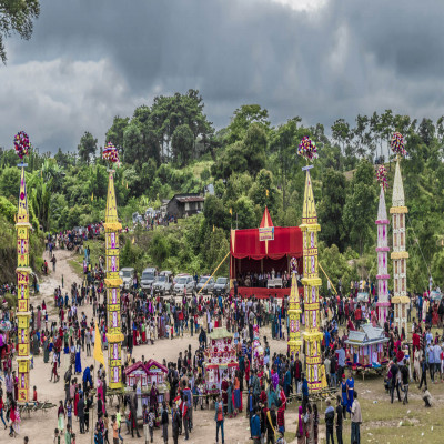 Behdienkhlam Festival Sight Seeing Tour