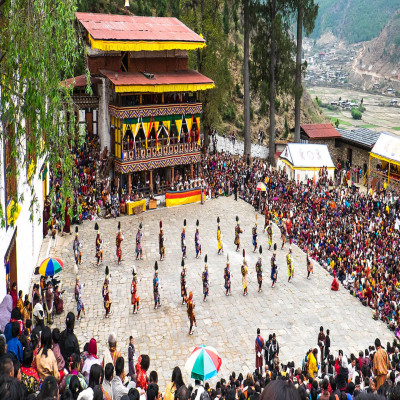 Lhabab Duchen Festival Places to See