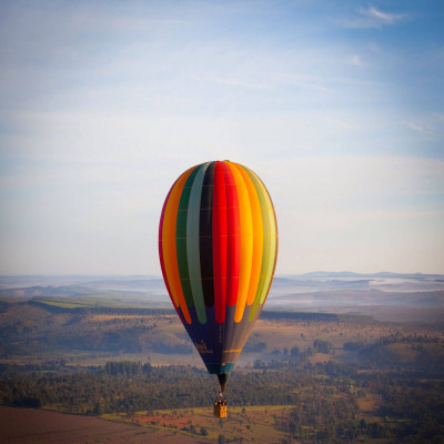 Hot Air Balloon Travel Plan