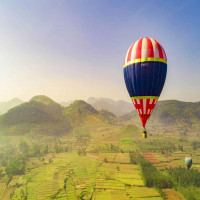 Hot Air Balloon Sightseeing