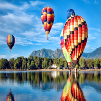 Hot Air Balloon Place to visit