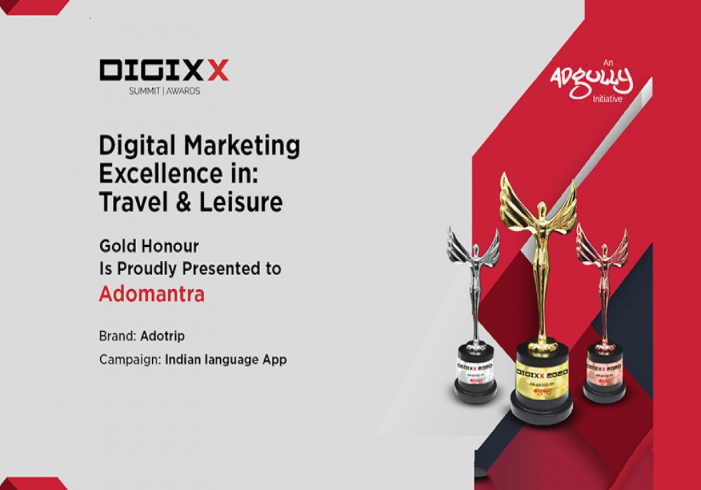 A Year into its Inception, Adotrip Wins its First Gold Award